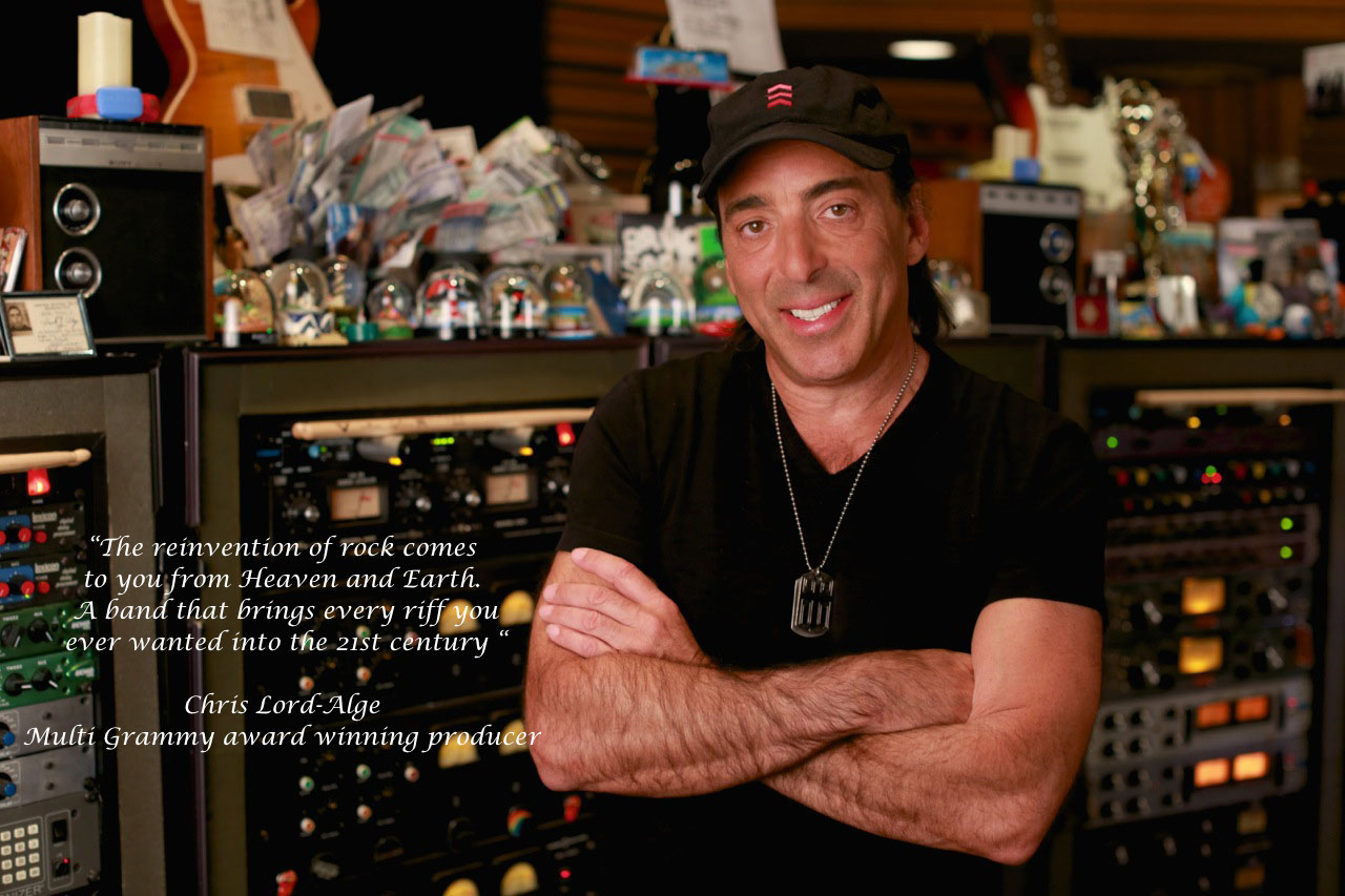 Chris Lord-Alge Quote on Heaven & Earth