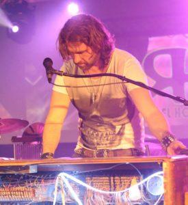 Mike Mangan, Keyboards, Hammond Organ, Vocals, Heaven & Earth